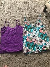 2x Vest Style Tops Size 12 H&m