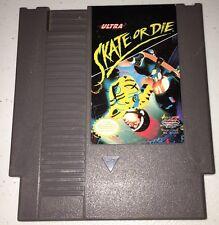 NES Nintendo Skate or Die Game Cartridge