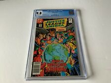 JUSTICE LEAGUE OF AMERICA 210 CGC 9.8 WHITE PAGES WONDER WOMAN DC COMICS 1983