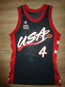 Charles Barkley #4 USA US Olympics Phoenix Suns Champion Jersey 40