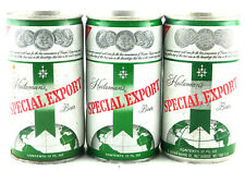 Qty. 3 Heileman's Special Export Beer Can Steel & Aluminum Top Opened Free Ship
