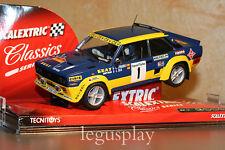 "Slot SCX Scalextric 6297 Seat Sport 131 Abarth ""Rallye Catalunya"" Nº1 - New"