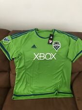 Adidas Seattle Sounders MLS Soccer Jersey NWT Size 2XL Men