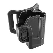 Orpaz Glock 19 Left Hand Belt Holster Fits Also Glock 17, 22, 23, 26, 27, 34