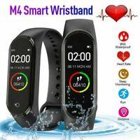 M4 Smart Watch Band Heart Rate Blood Pressure Monitor Tracker Fitness Wristband