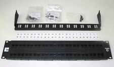 New Adc Krone 6653 1 679-48 48-Port Cat-6 Patch Panel W/Lacing bar