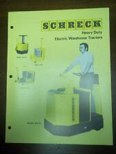 Shreck Warehouse Tractor Brochure~SPT-RT/SPT-RS/SPT-R