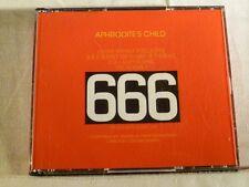 APHRODITE'S CHILD 666 2 CD WEST GERMAN (FATBOX)