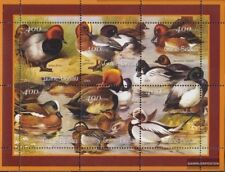 Never Hinged 2001 Birds Online Shop Useful Guinea-bissau 1428-1436 Sheetlet Unmounted Mint Topical Stamps