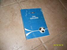 1996 Ford Explorer Owners Manual Owner's Guide Book Original