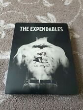 THE EXPENDABLES STEELBOOK BLURAY / DVD STALLONE  3 DISCS