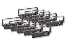10x Cinta de Impresora Negro Nylon para Star Micronics SP700,SP-700,MD712