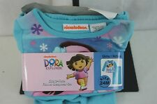 Pajama Set 2 PC Dora Blue Nickelodeon SZ 24 M  NEW NWT