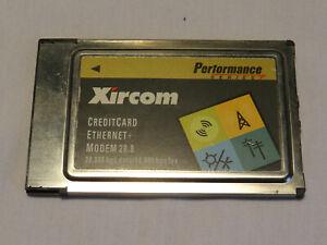 Xircom - PCMCIA Network and Modem Card