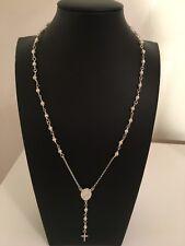 Collar De Perlas Rosario Señora de Guadalupe/Santo Niño de Atocha-Nuevo