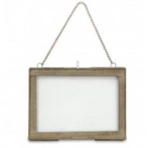 Azizi Landscape Brass Frame 4 x 6