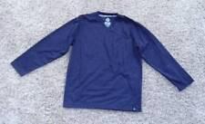 NWT-Boys Swiss Cross Purple V-Neck Long Sleeve Casual Shirt-size 14/16