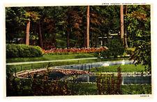 Indiana Postcard Scenic Swan Lagoon, Winona Lake, Indiana Postcard - WD1.