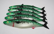 Marlin Teaser X5, 29cm, Hollow Fish, Soft Plastic Mackeral, Big Game Lure
