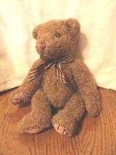 "Russ Cameron Brown Teddy Bear plush 10"""
