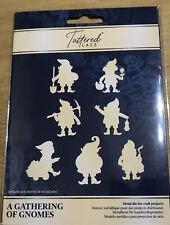 Tattered Lace Gathering Of Gnomes, 7 Dwarves Metal Cutting Die, Disney - 674653