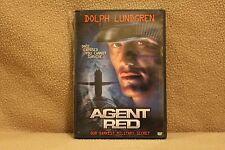 """Dolph Lundgren """"Agent Red"""" (DVD, 2001)"""