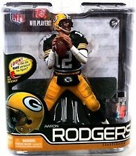 NFL Series 29 Aaron Rodgers Green Bay Packers Action Figure McFarlane Toys