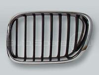 Chrome/Black Front Hood Grille LEFT fits 2000-2003 BMW X5 E53