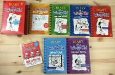 6x Diary of a Wimpy Kid Novel Book Bundle with an Exclusive Diary