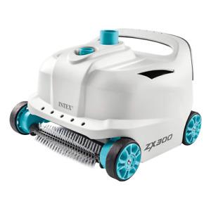 Intex 28005EX robot pulitore automatico ZX500 con ruote per piscine fuori terra
