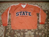 GEAR FOR SPORTS WOMEN'S SIZE M PULLOVER V NECK JACKET OKLAHOMA STATE ORANGE