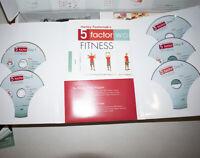 Harley Pasternak's 5 Factor Diet Kit Program Weight Loss Plan CDs Complete NEW