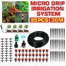 95X 30M Micro Drip Irrigation Watering Automatic Garden Plant Greenhouse System