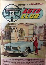 AUTO CLUB SUPPLEMENTO ALBI DELL INTREPIDO N.841 1962 B.M.W. 3200 C.S.