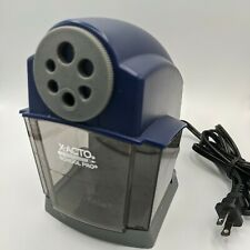 X Acto School Pro Classroom Electric Pencil Sharpener Bluegray 167x Used