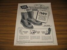 1959 Print Ad Acme Boots Feather-Wedge for Outdoors Clarksville,TN