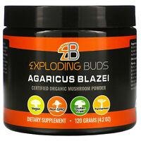 Agaricus Blazei, Certified Organic Mushroom Powder, 4.2 oz (120 g)