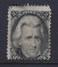Bigjake: #73, 2 cent Jackson, Perf. 12