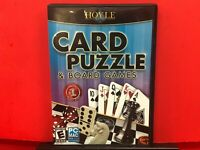 Hoyle Card Puzzle & Board Games PC GAME - B618
