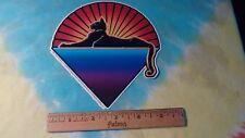 Grateful Dead Jerry Garcia Cats Under The Stars 5.75 Inch Sticker