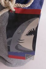 NWT Pottery Barn PB Kids Shark Kid Beach towel