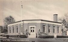 B74/ Caldwell Ohio Postcard Noble County c1940s U.S. Post Office Building