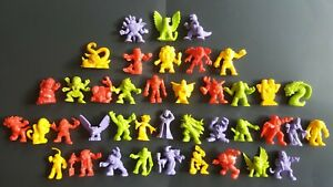Monster In My Pocket MIMP Series 1- MEG - Lot of 40 - No Duplicates - B