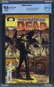 Walking Dead #1 CBCS 9.6 Kirkman, 1st Rick Grimes, Shane Walsh, Morgan Jones