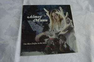 AIMEE MANN - ONE MORE DRIFTER IN THE SNOW  - CD ALBUM PROMO CARDS SLEEVE