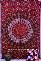 dian Tenture Murale Hippie Tapisserie Mandala Double Bohème Couvre-lit