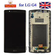 For LG G4 Black H815/H810 One sim card Digitizer Touch Screen LCD Display Frame