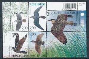 [338800] Finland 1998 birds good very fine MNH sheet