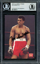 Muhammad Ali Authentic Autographed Signed 1991 All World Card Beckett 11483111