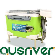 32L Portable Foldable Fishing Box Storage Tackle Adjustable Lift Feet Backrest